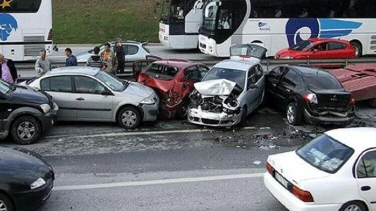 2017'de 1 milyon 202 bin 716 trafik kazası yaşandı - Sondakika ...