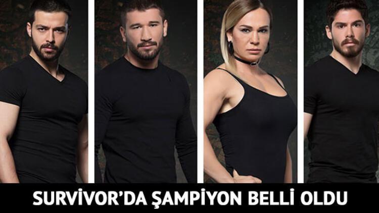 Survivor 2018'de kim şampiyon oldu? İşte, Survivor'un bu yılki şampiyonu