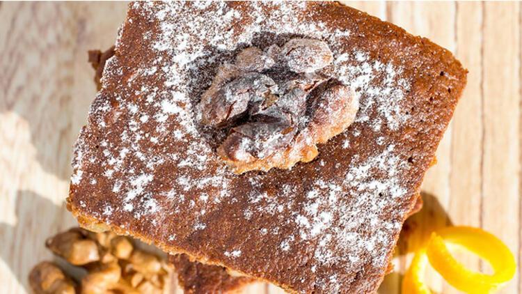 Cevizli tarçınlı puf kek tarifi