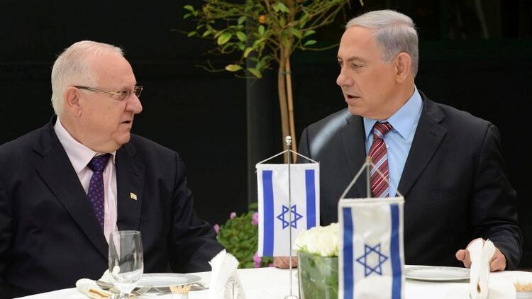 İsrail Cumhurbaşkanı Rivlin hükümeti kurma görevini Meclis'e verdi