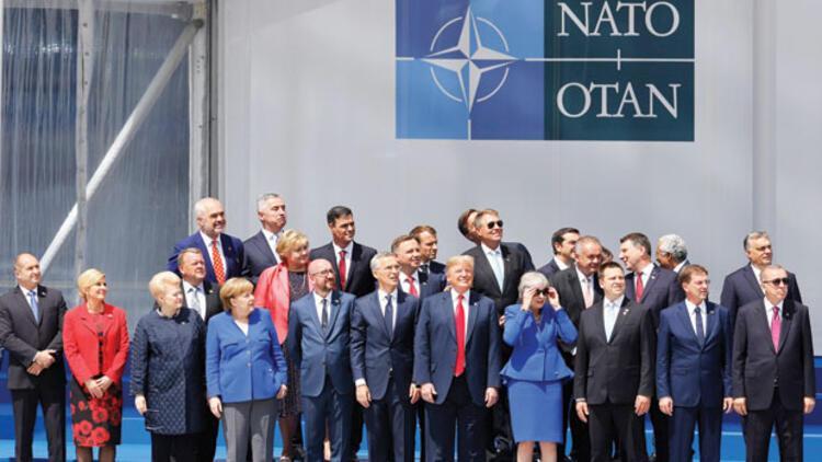 Trump'a NATO'da fren