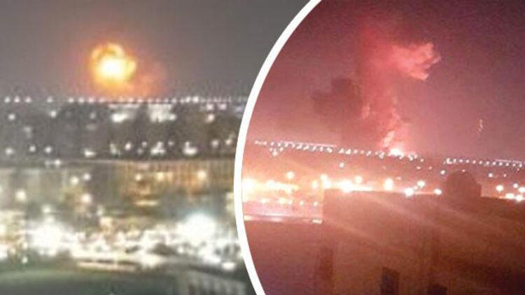 Son dakika... Kahire Havalimanı yakınlarında korkutan yangın