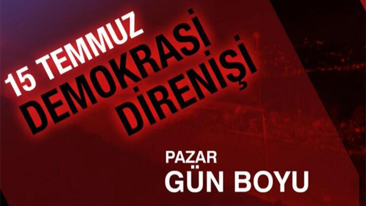 CNN TÜRK'ten 15 Temmuz Demokrasi Direnişi özel programı
