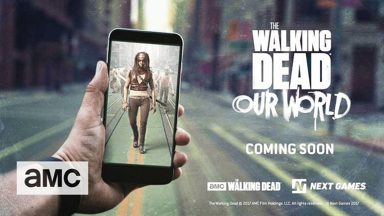 The Walking Dead'in yeni oyunu telefonlara geldi!