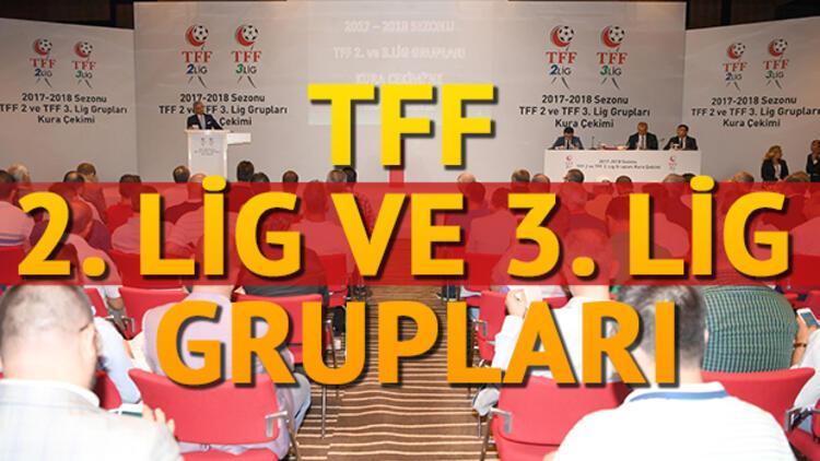 TFF 2. lig ve 3. lig fikstür ve gruplar belli oldu!
