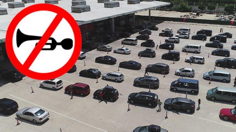 Kapıkule'de yolculara 'korna' uyarısı