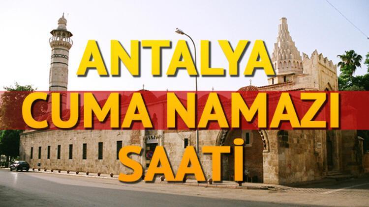 Antalya Cuma namazı saati! Antalya'da Cuma saat kaçta kılınacak?