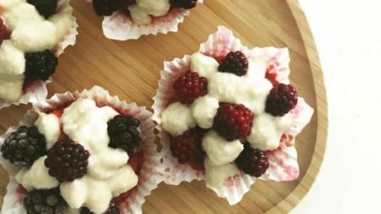 Raw vegan cupcake tarifi
