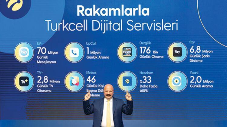 Dijital sıçrama: Turkcell'in geliri 6 ayda 10 milyara dayandı
