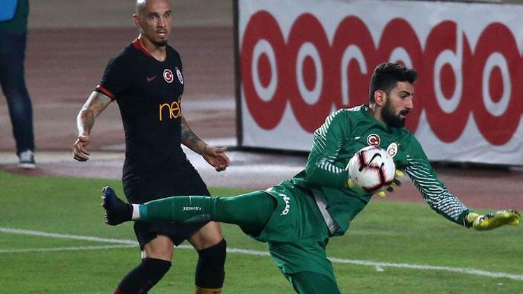 Galatasaray'da İsmail Çipe güven veriyor
