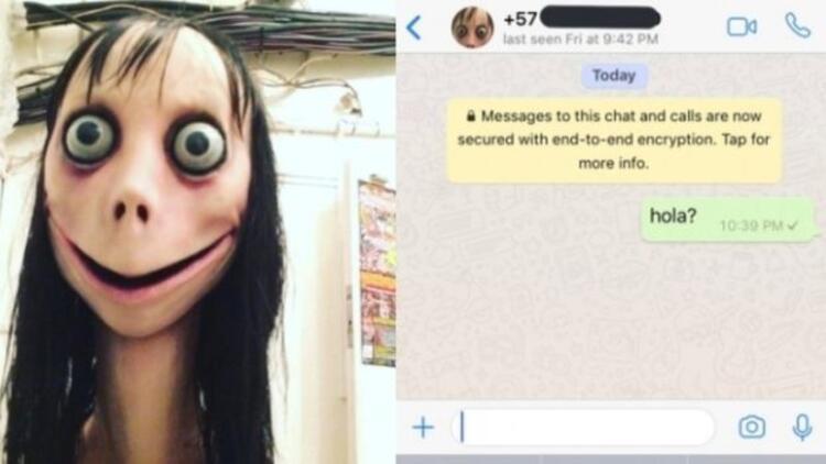 Momo nedir? Whatsapp'tan hızla yayılan kabus...