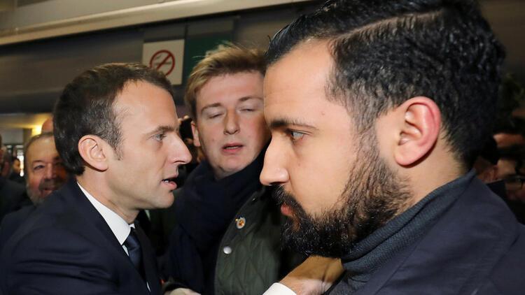 Macron'un eski yakın koruması hakkındaki soruşturma
