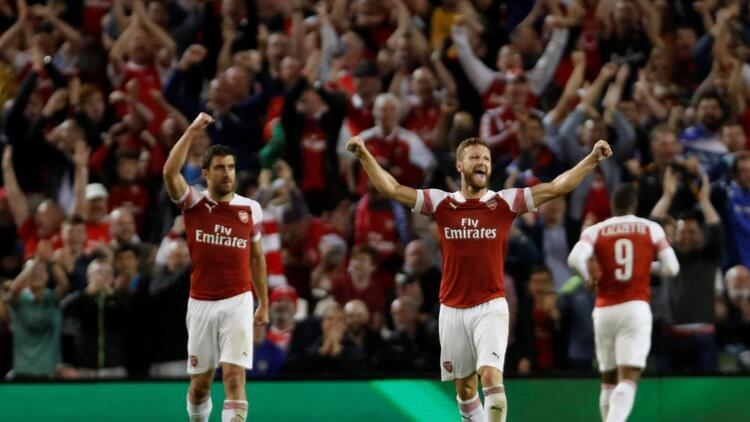 2018 Uluslararası Şampiyonlar Kupası Arsenal'in
