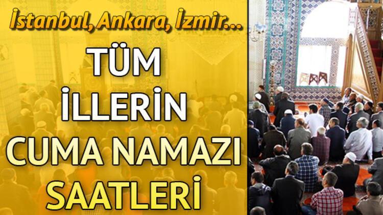 İstanbul cuma saati   Cuma namazı kaçta kılınacak?