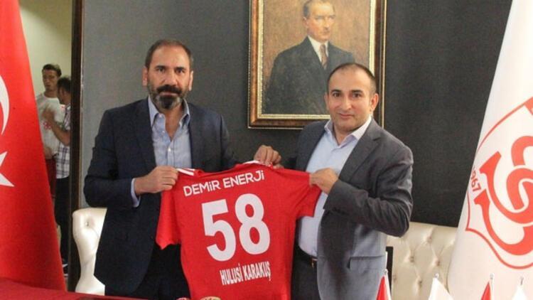Sivasspor'a yeni forma sponsoru