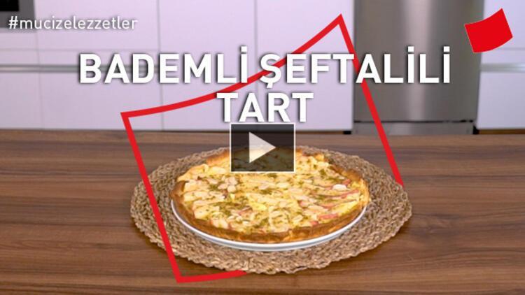 Bademli Şeftalili Tart
