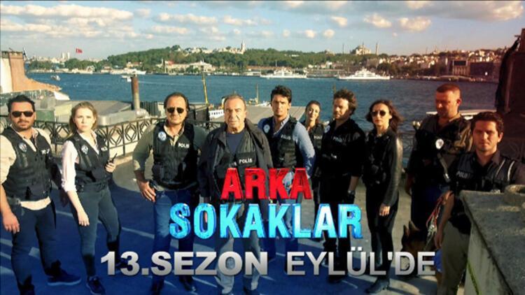 """""""Arka Sokaklar"""" 13.sezonu ile Eylül'de ekrana geliyor. Sevilen dizinin yeni sezon fragmanı yayınlandı."""