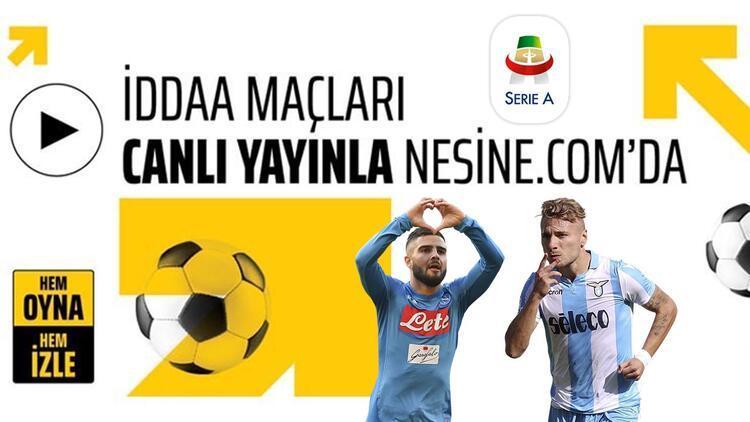 Günün Serie A maçlarına iddaa'lı bakış! Banko tercih...