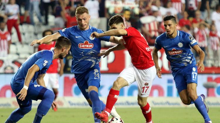 Antalyaspor'dan müthiş dönüş