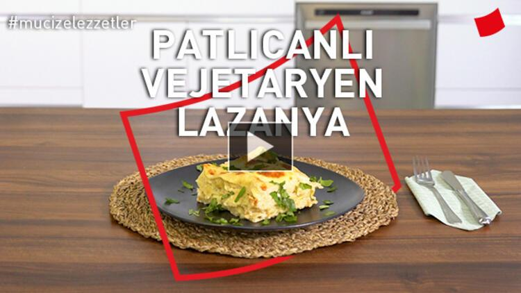 Patlıcanlı Vejetaryen Lazanya
