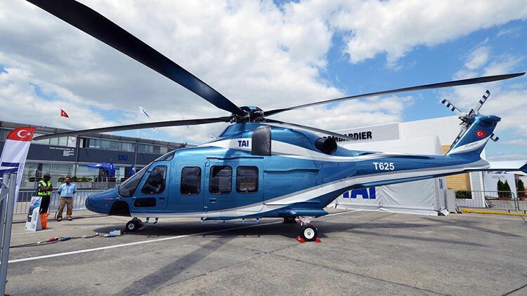 Türkiye'nin ilk özgün helikopteri T625, ilk uçuşunu gerçekleştirdi