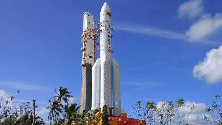 Çin uzaya okyanus gözlem uydusu fırlattı