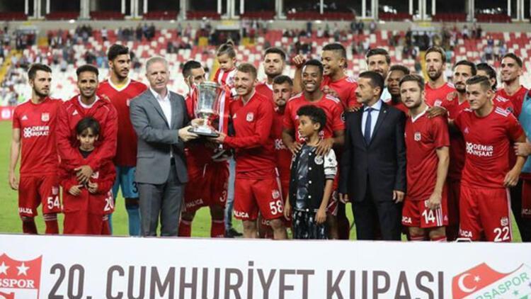 Sivas Cumhuriyet Kupası 9'uncu kez Sivasspor'un