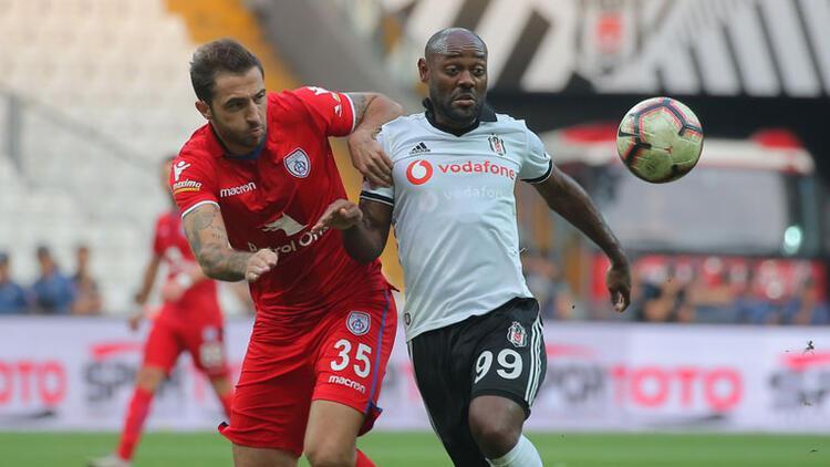 Beşiktaş Altınordu'yu 2 golle geçti