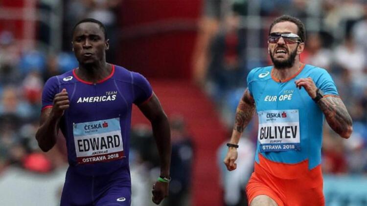 IAAF Kıtalar Kupası'nda Ramil Guliyev rüzgarı