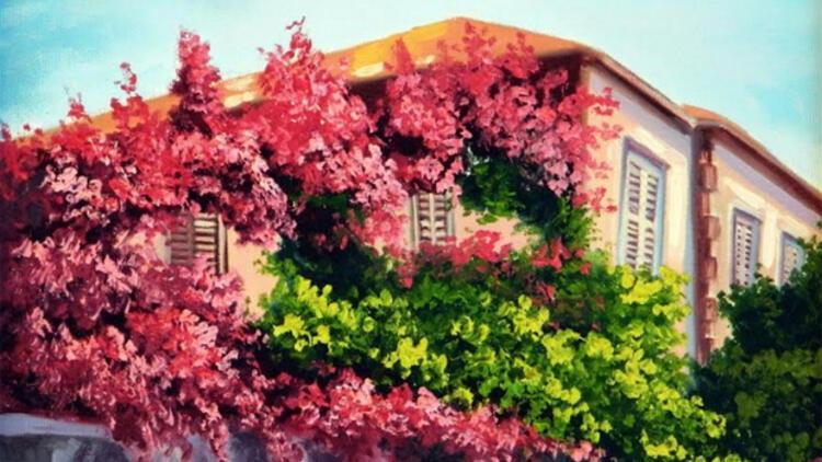İstanbul'un güzellikleri tuvallerde