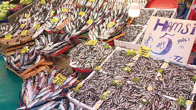Menüler balık  dolu