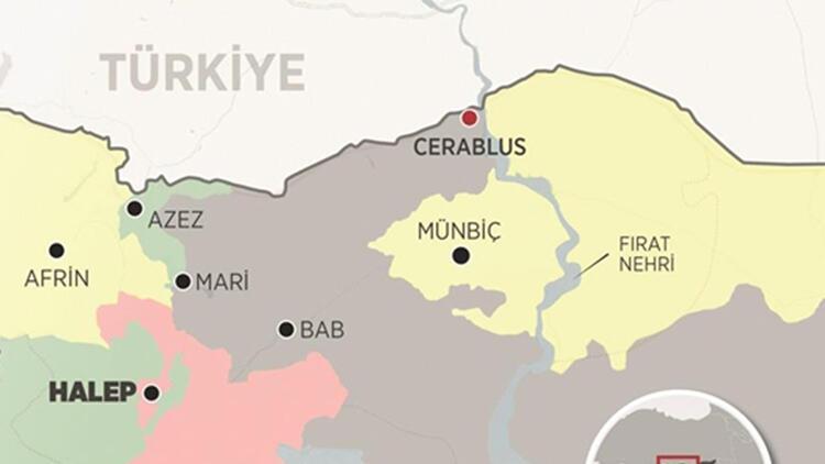 Cerablus'ta bombalı motosikletle saldırı: 10 yaralı