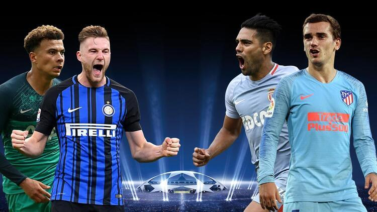 'Inter-Tottenham' ve 'Monaco-Atleti' maçlarında öne çıkanlar! Eksikler, iddaa...