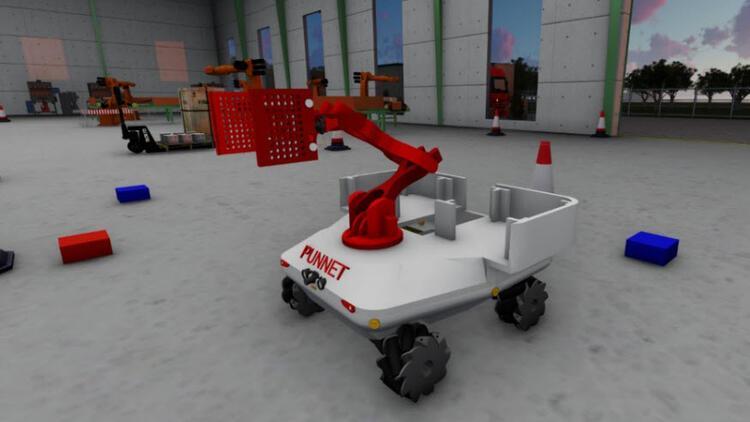 """BİLGİ'li robotikçiler, """"Punnet"""" ile dünya ikincisi"""