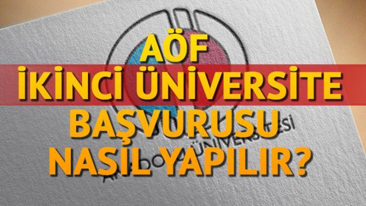 AÖF ikinci üniversite başvuru tarihi uzatıldı!