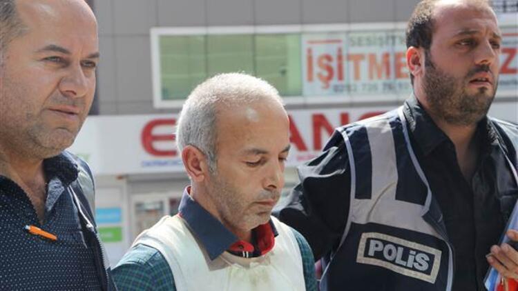 Polis bütün görüntüleri izledi... 'Kasap' yakalandı