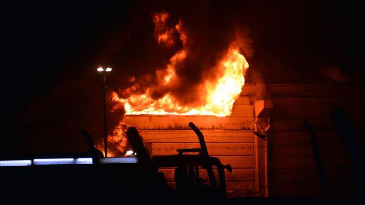 Son dakika... Kahramanmaraş'ta tekstil fabrikasında yangın