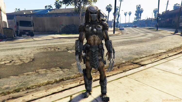 GTA V'e Predator modu geldi!