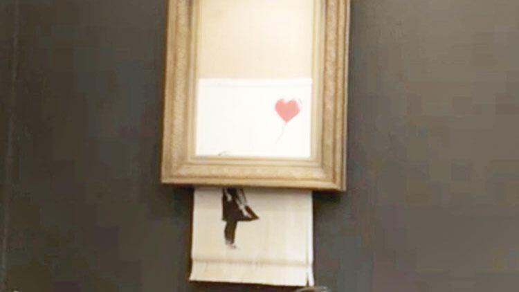 8 milyonluk tablo kendini doğradı