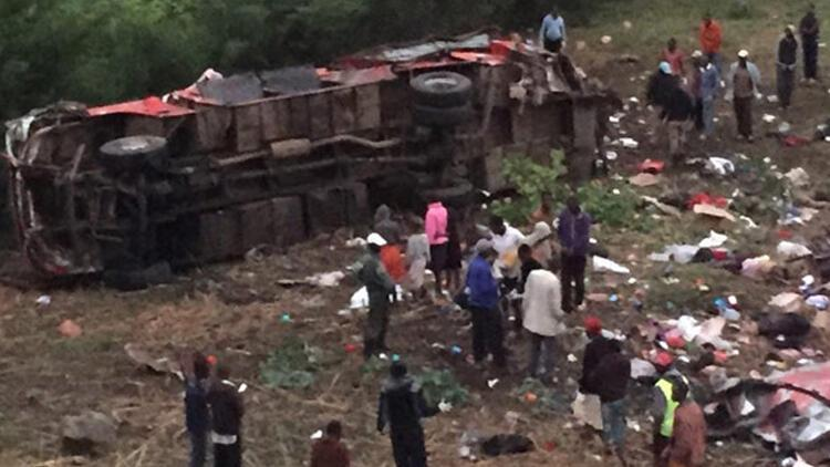 Son dakika: Kenya'da otobüs faciası: 42 ölü
