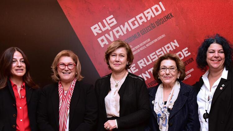 Rus Avangardı akımının Türkiyedeki en kapsamlı sergisi