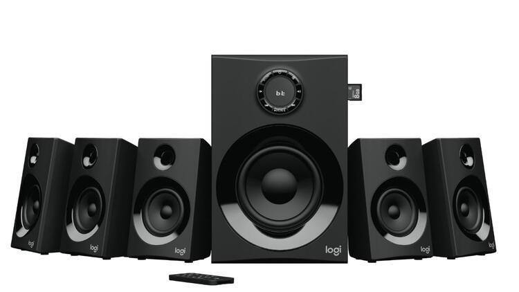 Logitech yeni 5.1 Surround Hoparlör Sistemi Z607'yi duyurdu