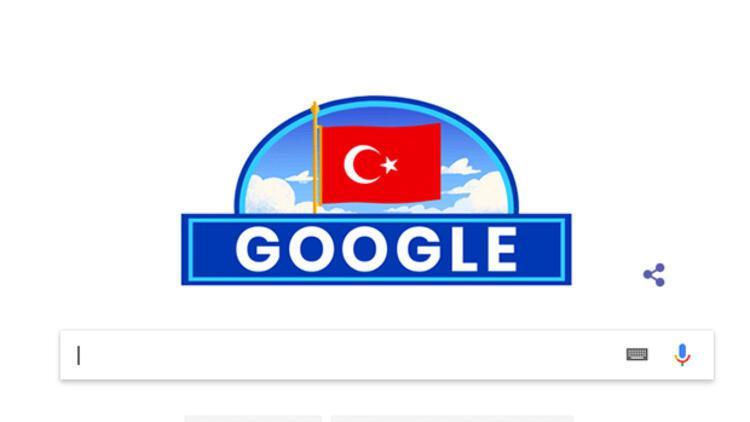 Google 29 Ekim'i unutmadı! Google'dan 29 Ekim Cumhuriyet Bayramı doodle'ı