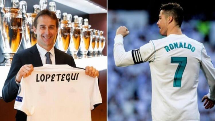 """Lopetegui'nin babası: """"Ronaldo ile oğlumdan 50 gol çaldılar!"""""""