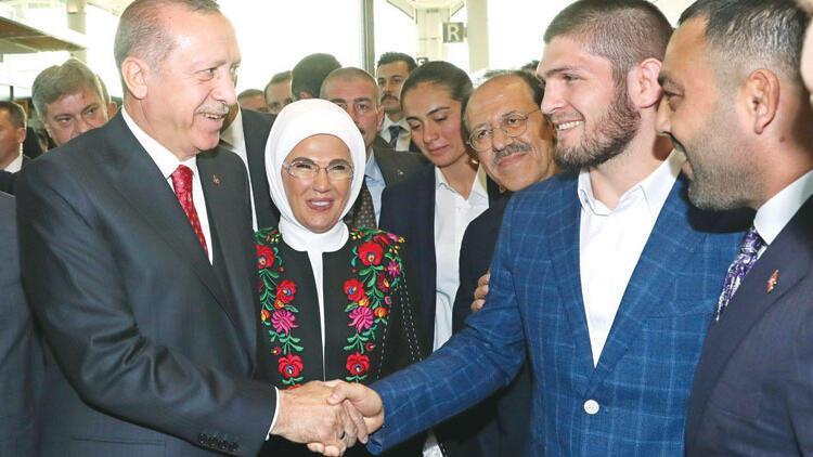Khabib Nurmagomedov: Cumhurbaşkanı Erdoğanla Türkçe konuşacağım