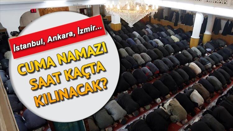 Cuma Namazi Bugun Saat Kacta Istanbul Ankara Izmir Il Il