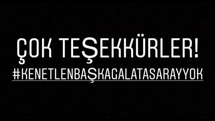 Galatasaraylı futbolculardan ortak paylaşım