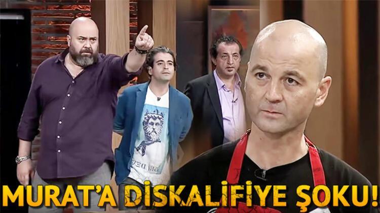 MasterChef Murat diskalifiye edildi! Daha önce de Yemekteyiz'den kovulmuştu!