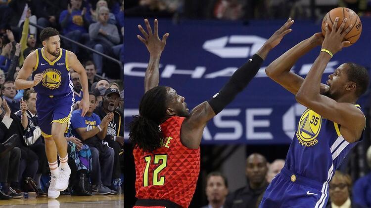Curry yoksa Durant ve Klay var!