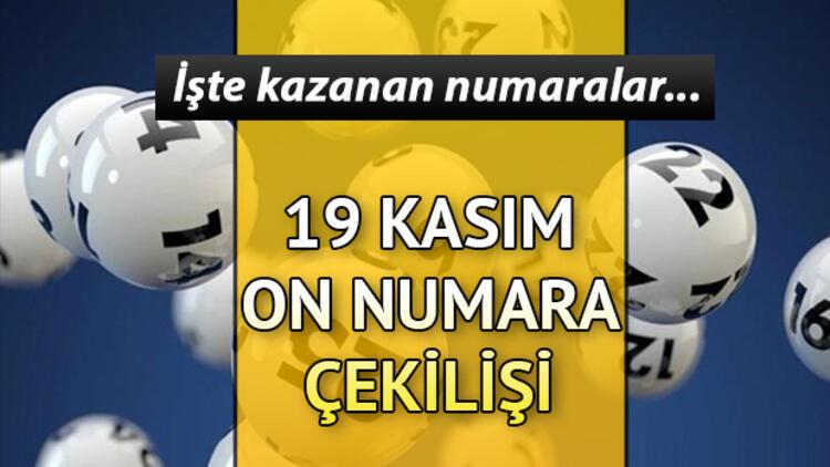 On Numara sonuçları açıklandı... 19 Kasım On Numara sonuçları MPİ sorgulama